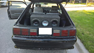 1987 Ford Mustang GT Hatchback - No E-Test Peterborough Peterborough Area image 7