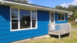 RENTED! Renovated home 3 plus acres OCEAN VIEW for Rent