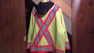 Work King Safety 3xl Reflective Coat