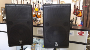 "Yamaha DSR115 Active 15"" Speakers"