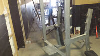 Assorted used exercise equipment