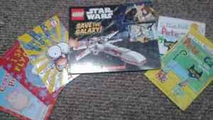 Boy Easy Readers Starter Books plus Star Wars Lego Board  Book