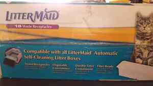 New box of littermaid waste receptacles