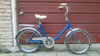 Vintage Folding Bicycle - Small Rider!