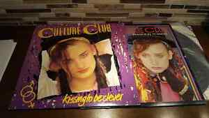 2 Culture Club LP Vynil Record Albums - Collectable