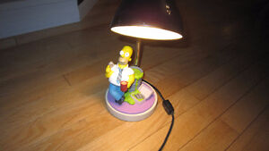Lampe de table Homer Simpson's / Simpsons Homer Table Lamp.