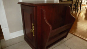 End/side table cherry