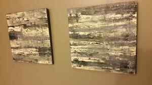 Abstract art - new. Original. Local artist. Kitchener / Waterloo Kitchener Area image 1