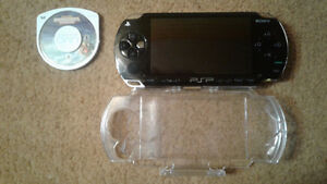 PSP with case and game (all offers considered)