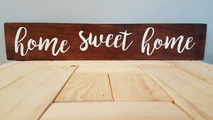 Handcrafted Wooden Signs!