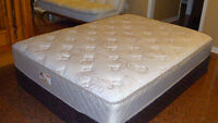 Double Mattress with box spring .  Looks like new....
