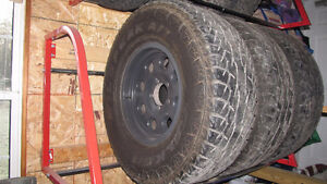 35 inch tires and wheels Peterborough Peterborough Area image 1