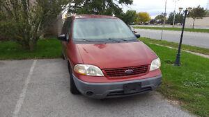 2002 Ford Windstar Minivan, Van