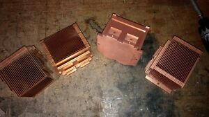 Copper Heat sinks - not for pennies any longer