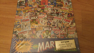 Vintage Marvel puzzle still in package.