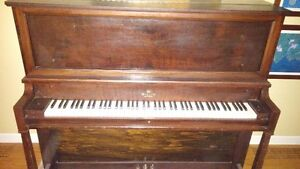 Willis of Montreal upright piano