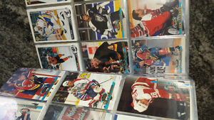 About 1000 Hockey Cards 1990's