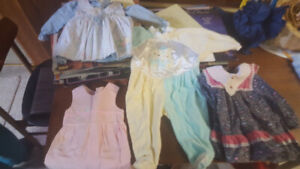 Assortment of Baby Girl's Clothing (Ages 0 -3)