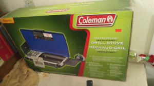 Coleman Grill Stove. Brand new.