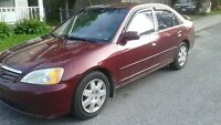 2002 Honda Civic LX certified Etested Sedan