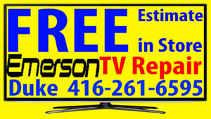 Emerson TV repair LED HDTV, LCD TV, NO POWER, No Picture