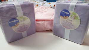 CRIB SHEETS NEW IN PACKAGE