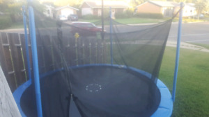 12' tramp disassembled and ready to go 150 obo