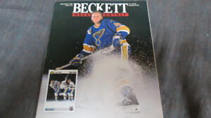 Beckett Hockey Monthly 1991(Brett Hull cover)