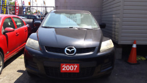 2007 MAZDA CX 7, AS IS SPECIAL, OPEN SATURDAY 9-1