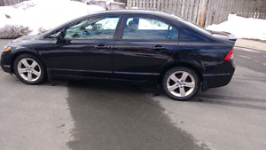2008 honda civic 4 door automatic