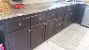 Kitchen Cupboards, Pantry, Island & Countertop