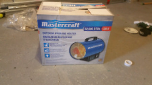 Mastercraft outdoor heater 52000 BTU