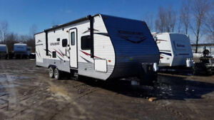 Travel Trailers & Fifth Wheels at Auction - Ends March 20th
