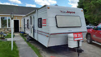 Jayco camper with add a room and generator excellent condition