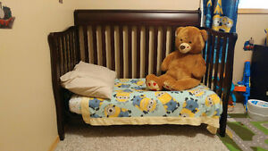 3 in 1 Baby Crib and Matress