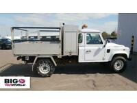 2017 LAND ROVER DEFENDER 130 2.2 TD 122 4X4 SINGLE CAB ALLOY DROPSIDE WITH TOOL