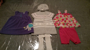 6-9 mth girl clothes