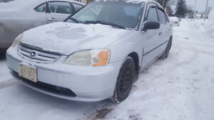 2002 Honda Civic, Automatic, New tires!