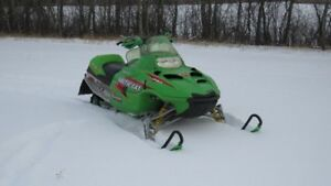ARCTIC CAT Z440 SNOPRO F/C NEW ENGINE