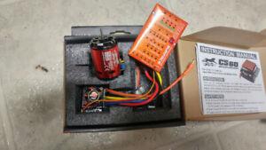 1/10 brushless motor and ESC