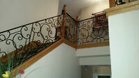 Custom Wrought Iron Work Indoor Outdoor