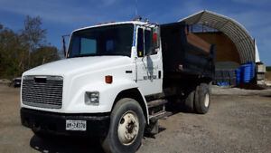 1994 Freightliner FL80 with dump box