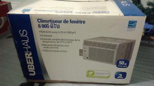 Climatiseur de fenêtre 6000 BTU