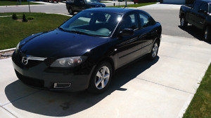 Mazda 3, low kms for sale!