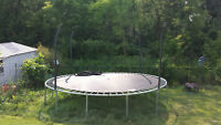 Trampoline with Mesh Guards $100 or best offer