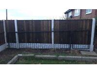 Metal railings and gate