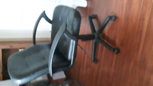 Swivel hydrolic desk chair