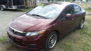 2012 Honda Civic LX HALLOWEEN HOWL PRICE NOW ONLY $7850!!