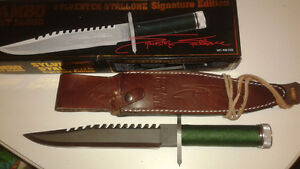 Rambo first blood signature blade