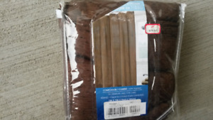 Fabric Shower Curtain - new in package